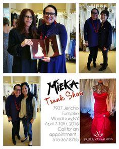 Trunk Shows at Paula Varsalona!! For more information email us at askpaula@paulavarsalona.com