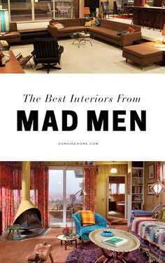 All the Best Interiors From Mad Men