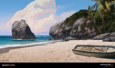 Uncharted 4 - Tropics, Eytan Zana on ArtStation at https://www.artstation.com/artwork/K23qB