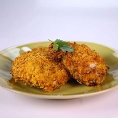 the chew | Recipe  | Clinton Kelly's Oven-Fried Chicken   I like the thought of using yogurt to coat the pieces before baking!