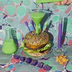 Dr. Jekyll & Mr. Burger.Bun schizophrène aux deux sésames....