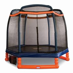 We purchased this for the downstairs playroom..wonderful for long, cold Winters. |Little Tikes® 7' Trampoline