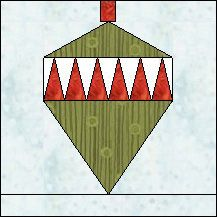 Block of the Day for December 19, 2013 - Ornament