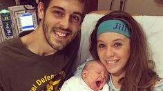 Jill Duggar and Derick Dillard have announced their baby to the world but not like this yet. The 19 Kids and Counting stars welcomed their baby boy Israel on April 6, and the latest pic of the little guy could not be any cuter! NEWS: Jill Duggar Gives Birth The 23-year-old mama posted this adorable snap of Israel rocking big shades on his tiny head. The Dillard family also shared, a new photo from the hospital with Jill and her 25-year-old husband holding their latest addition. They look…