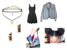"""""""Colors"""" by kaia-edwards ❤ liked on Polyvore featuring T.U.K., Ally Fashion, American Apparel, Snash Jewelry and Miss Selfridge"""