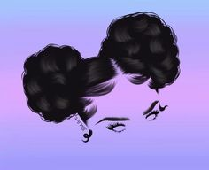 Black Love Art, Black Girl Art, Black Girl Magic, Dope Cartoon Art, Black Cartoon, Black Art Painting, Black Artwork, Drawings Of Black Girls, Black Art Pictures