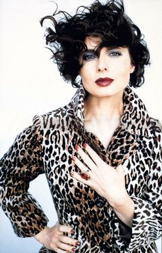 cool chic style fashion: photo of the day | Isabella Rossellini