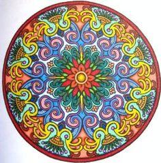 Mystical Mandala Coloring Book (Dover Design Coloring Books): Alberta Hutchinson: 9780486456942: Amazon.com: Books
