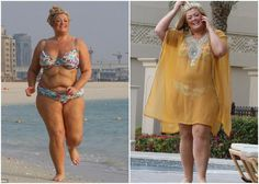 Gemma Collins Flaunts Her Curves Wearing A Floral Bikini In Dubai   Gemma Collins, television personality and fashion designer, is proud of her curves and she's obviously not afraid to flaunt them. Between building her professional brand and planning a wedding the curvy celebrity made time to ...