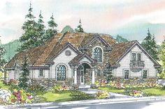 European House Plan - Southwick 30-482 - by Associated Designs