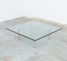 Tugendhat Coffee Table by L. Mies van der Rohe for Knoll