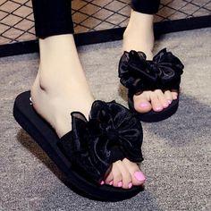 e15a4295b Summer Casual Outside Women Slippers 2018 Fashion Leisure Female Ladies Shoes  Footwear Beach Flat Su