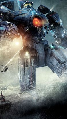 Pacific Rim Robots iPhone Wallpapers