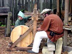 Carpenters Medieval Peasant, Carpenter Work, Medieval Houses, Blacksmithing, Wood Working, Shops, Fantasy, Crafts, Atelier