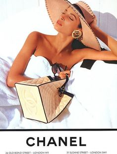 Every bit of it, still timeless:  1980's Chanel with Christy Turlington #chanel