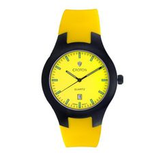 Enter for a chance to win this water-resistant, neon-colored Croton watch that's easy to read! #win #free #giveaways #sweepstakes