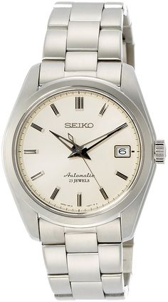 Amazon.com: Seiko Men's ' Japanese Automatic Stainless Steel Casual Watch, Color:Silver-Toned (Model: SARB035): Watches