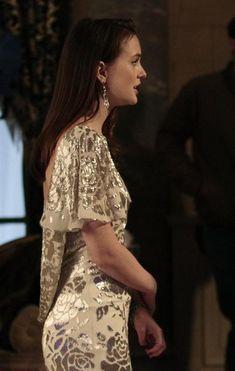 Marchesa gown.  Swarovski earrings.  Stella & Dot bracelet.