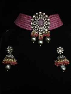 Indian Jewelry Sets, Indian Wedding Jewelry, Wedding Jewelry Sets, Wedding Necklace Set, Bridal Necklace, Beaded Necklace, Valentine Gifts For Girlfriend, Indian Necklace, Bollywood Jewelry