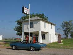 Lucille's - Hydro, OK. One of the most famous stations and personalities on Route 66