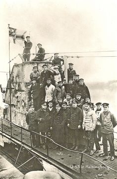 World War I German U-boat crew