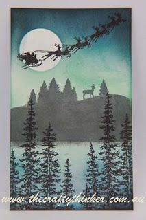 Stampin' Up! To You & Yours Too, Christmas Card, Cozy Christmas, Wonderland