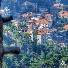 A beautiful view of Dhour El Chweir!  By Zaher El Khatib  #Lebanon #WeAreLebanon