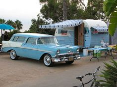 1956 Shasta  [1956 Chevrolet   Nomad tow]  David & Karen Jennings  Mission Viejo, California