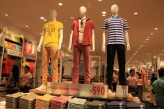 UNIQLO-SM-City-Fairview-Mens-Apparel Uniqlo, Lingerie, City, Men, Shopping, Cities, Guys, Underwear, Corsets