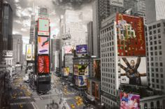 $5.99 NEW YORK - Times square Aerial Poster