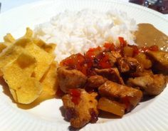 Pittige kip hawai - Lekker en Simpel