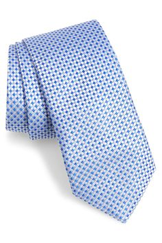 Southern Tide Fayateville Check Silk Tie In Blue Southern Tide, Pure Silk, Silk Ties, Nordstrom Rack, Mens Fashion, Pure Products, Blue, Check, Lifestyle