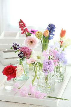 How to Make a Cool Flower Arrangement: 8 DIY Ideas for Spring Blumen Arrangemen. How to Make a Cool Flower Arrangement: 8 DIY Ideas for Spring Blumen Arrangements This image ha