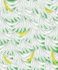 iPhone Wallpaper Cool mid century fabric design by Henry Moore endpapers from a vintage knitting book free iPhone wallpapers Banana pattern Pattern Paper, Pattern Art, Pattern Design, Fabric Design, Graphic Patterns, Textile Patterns, Textile Prints, Surface Design, Surface Pattern