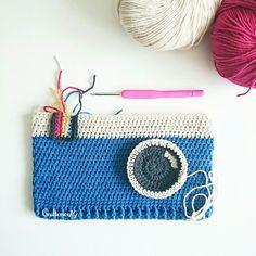 Instagram Gultence79 Crochet Pencil Case / Häkeletui / Örgü kalemlik