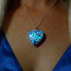 Necklace Gifts Magical Aqua Blue Tree of Life Love by Fialo4ka555