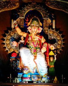 🙏 🙏 🙏 Happy Birthday Wishes Photos, Ganpati Picture, Ganpati Festival, Ganesh Lord, Ganesh Idol, Lord Ganesha Paintings, Shree Ganesh, Ganpati Bappa, Indian Festivals