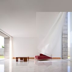 Interior aspect of a residential house In Moreira, Portugal by Phyd Arquitectura Contemporary Architecture, Interior Architecture, Interior And Exterior, Box Houses, Minimalist Home, Interior Design Inspiration, Decoration, House Design, Product Design