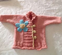 Ravelry: Project Gallery for Ribbed Baby Jacket pattern by Debbie Bliss