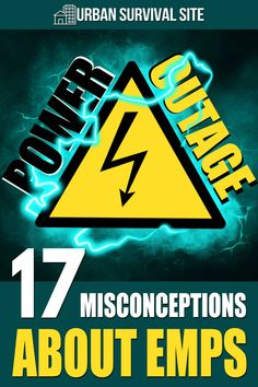 there are a lot of misconceptions about EMPs and what happens when one goes off. We're going to address a lot of these misconceptions here. Urban Survival, Survival Life, Survival Skills, Electrical Grid, Electrical Components, Safety Topics, Lightning Strikes, Emergency Preparedness