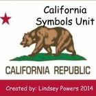 California State Symbols Unit for Kindergarten