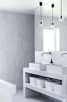 Small Glass Pendant Light in bathroom Bathroom Inspo, Bathroom Inspiration, Bathroom Interior, Bathroom Ideas, Bathroom Toilets, Washroom, Bathroom Pendant Lighting, Bad Inspiration, Glass Pendant Light