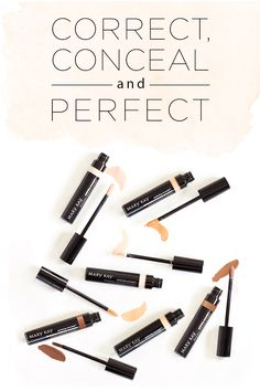 Look like you've got nothing to hide with our new Perfecting Concealer™! Conceal blemishes, age spots and minor skin imperfections, with six shades to choose from. | Mary Kay