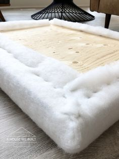 How to Build a Window Seat Cushion Window Seat Cushions, Window Benches, Bench Cushions, Banquette Seating In Kitchen, Banquette Bench, Diy Bench Seat, Diy Pouf, Window Seat Kitchen, Upholstery Foam
