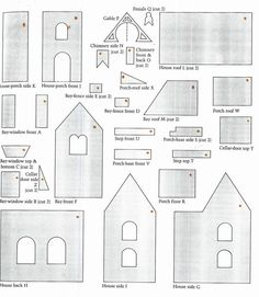 Below are some free gingerbread house plans to help you build your own gingerbread house. While the plans are useful when you are going to bake your own pieces. If you want an easier way, you can o…