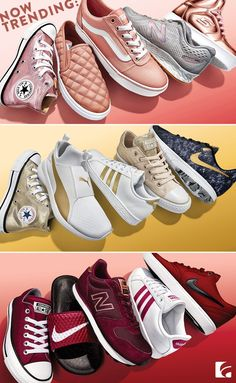 We're happy to announce that there are some new favorite colors in town and you don't have to pick just one. These are the new hues trending now—which one will you wear Cute Shoes, Me Too Shoes, Look 2018, Shoe Boots, Shoe Bag, Mocassins, Nike Free Shoes, Crazy Shoes, Swagg