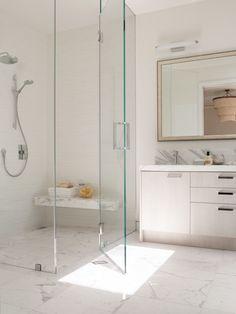 frameless shower door cost Bathroom Contemporary with hand shower frameless glass shower enclosure