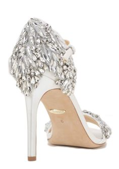 adae21e503f8 Badgley Mischka Wedding Shoes Inspiration