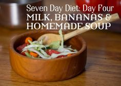 Day four of a seven-day plan to help you lose 10 pounds in one week. This diet includes recipes and detailed meal descriptions for seven days. Lose weight, be healthy, and don't starve yourself!