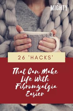 26 'Hacks' That Can Make Life With Fibromyalgia Easier Fibromyalgia Quotes, Chronic Illness Quotes, Fibromyalgia Pain, Chronic Migraines, Chronic Pain, Neck Problems, Tension Headache, Mental Health Conditions, Chronic Fatigue Syndrome